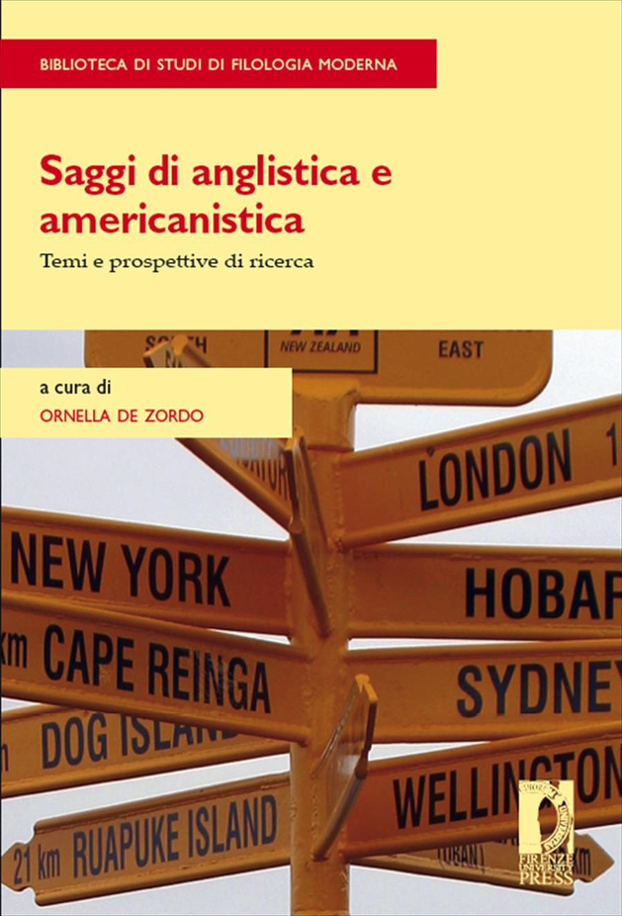 Saggi di anglistica e americanistica