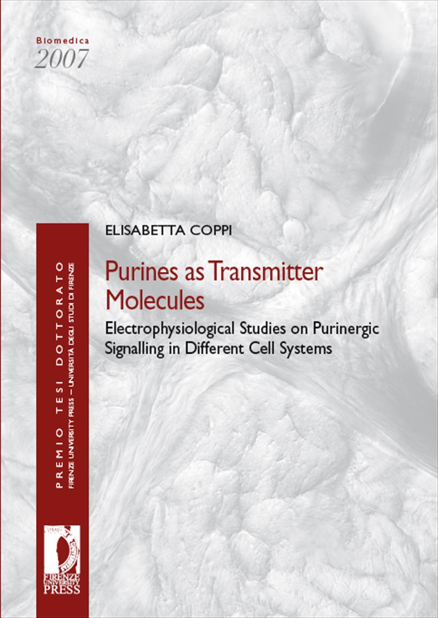 Purines as Transmitter Molecules: Electrophysiological Studies on Purinergic Signalling in Different Cell Systems