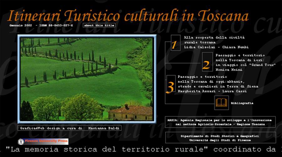 Itinerari turistico culturali in Toscana