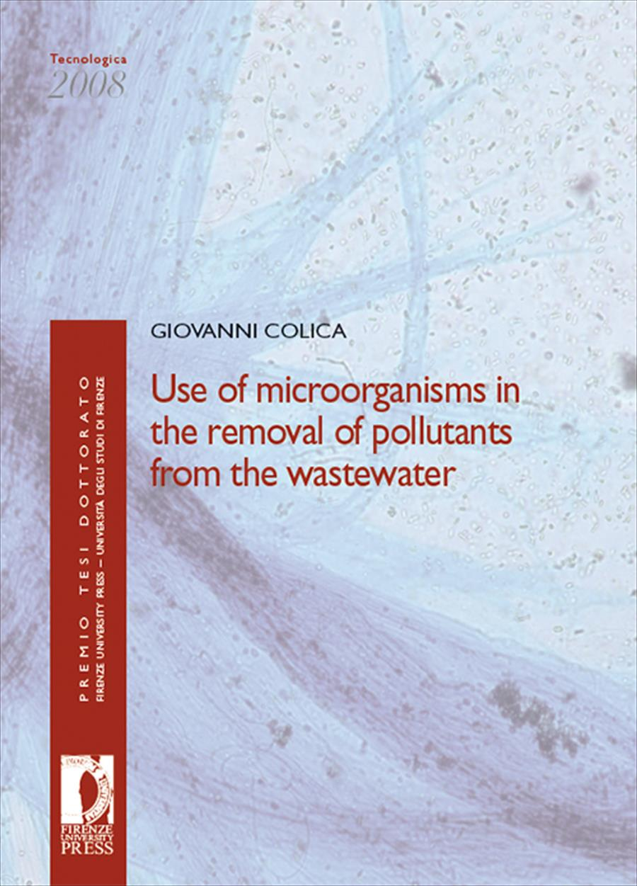 Use of microorganisms in the removal of pollutants from the wastewater