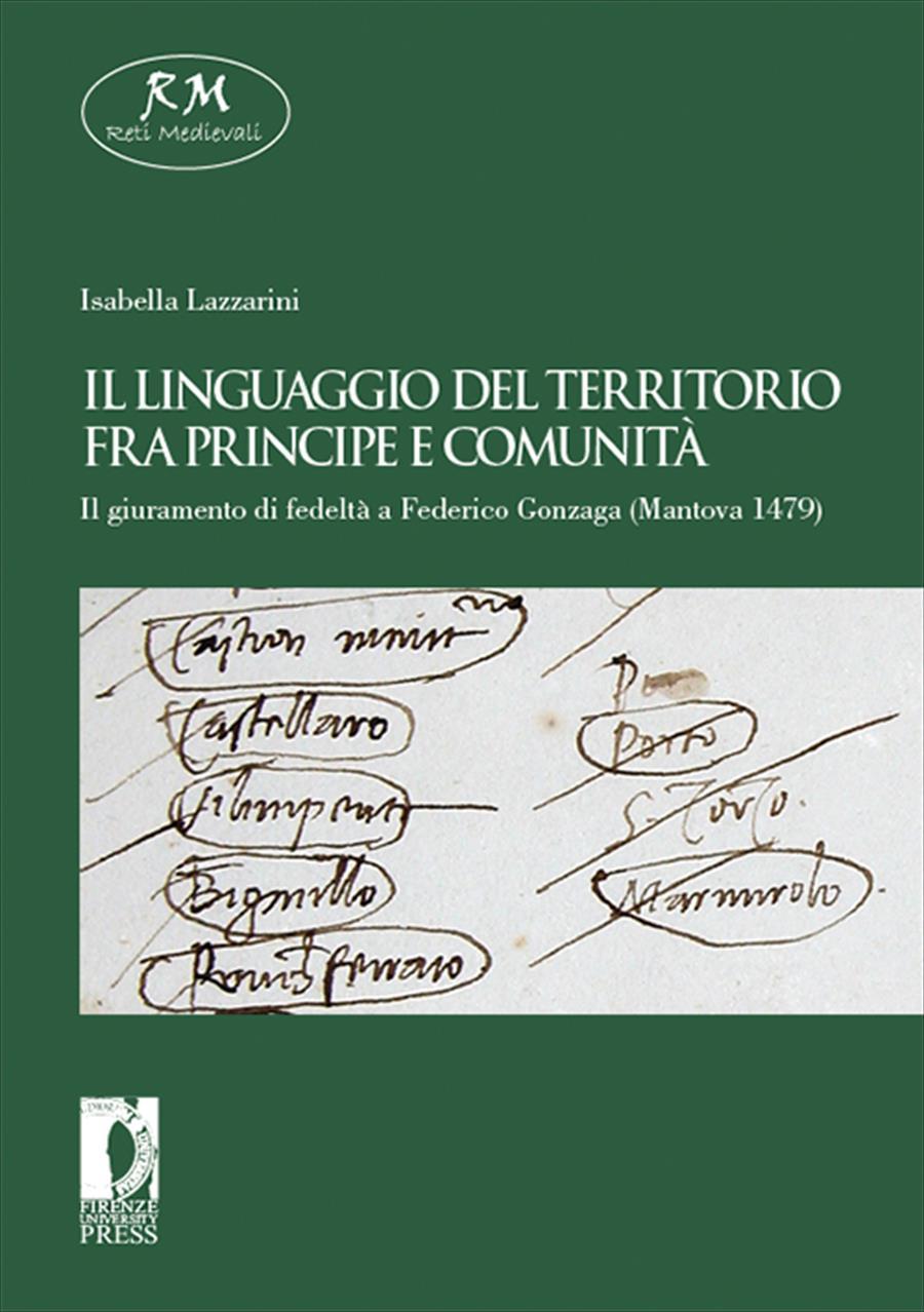 Il linguaggio del territorio fra principe e comunità