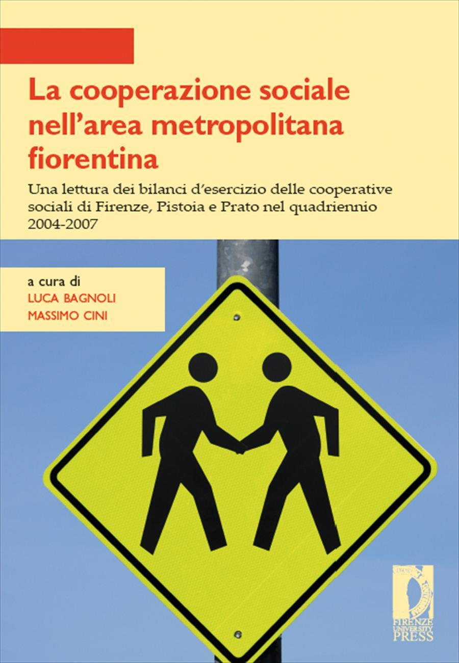 La cooperazione sociale nell'area metropolitana fiorentina