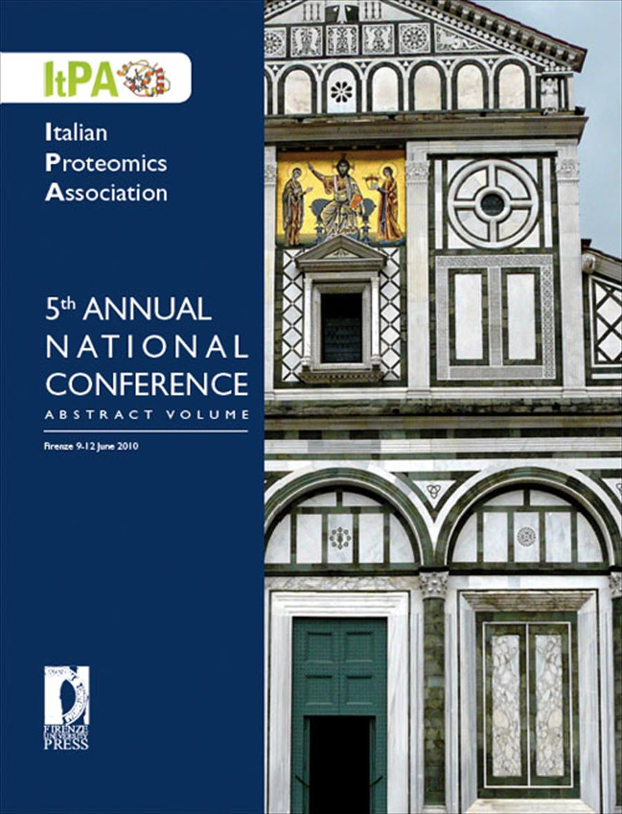 Italian Proteomics Association, 5th Annual National Conference Abstract Volume
