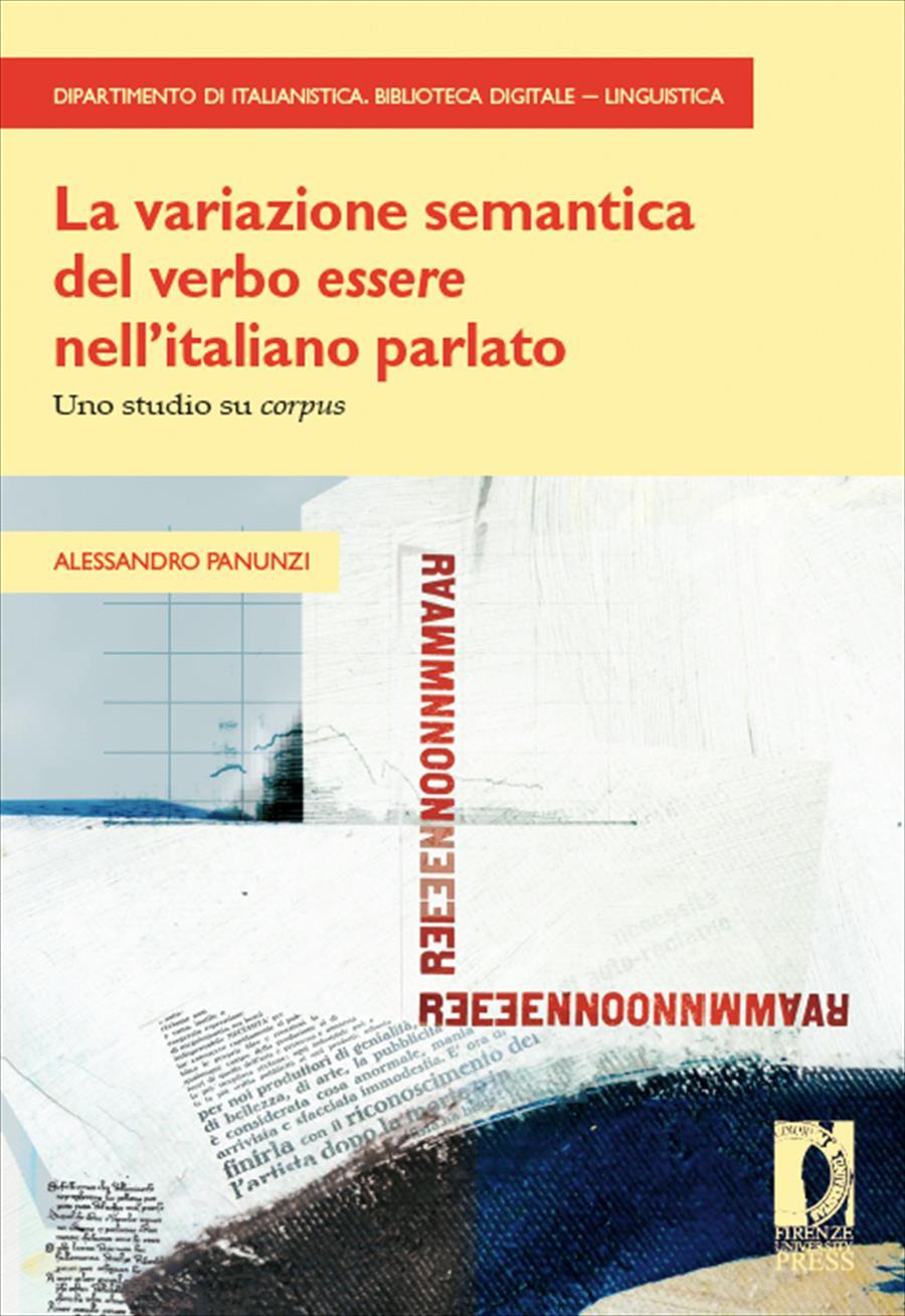 """La variazione semantica del verbo """"essere"""" nelI'italiano parlato"""