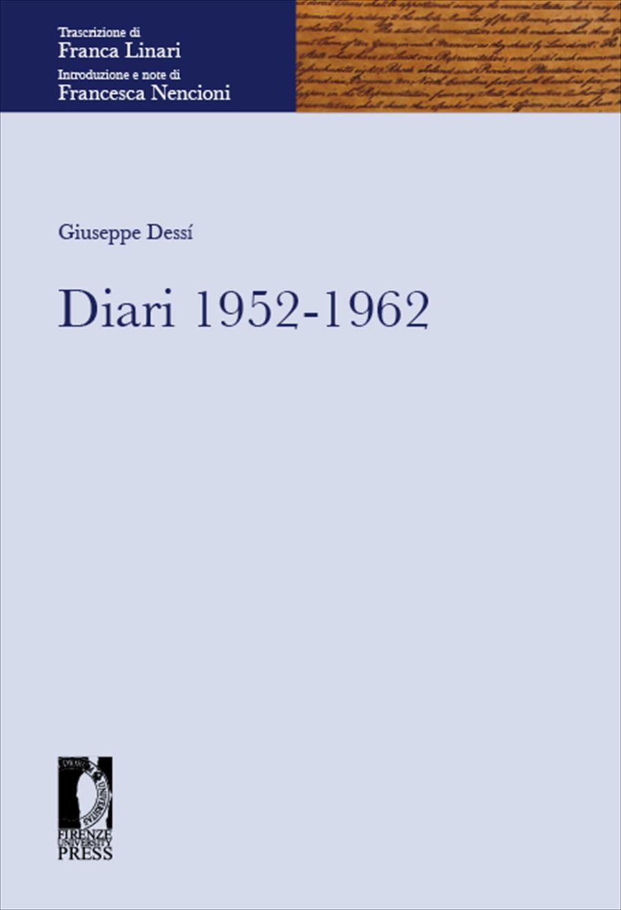 Diari 1952-1962