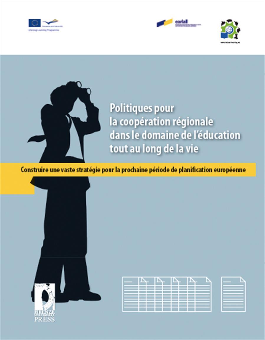 Politiques pour la coopération régionale dans le domaine de l'éducation tout au long de la vie