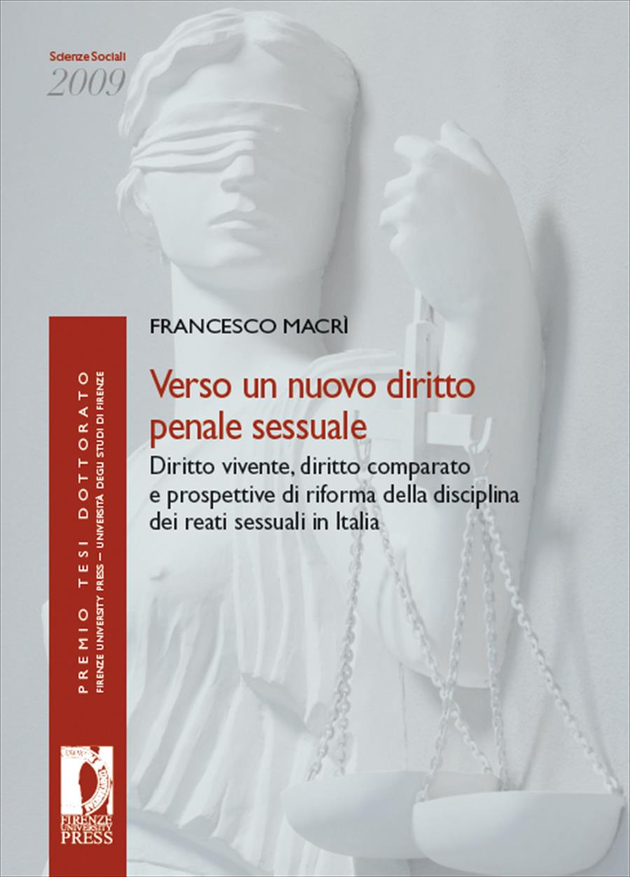 Verso un nuovo diritto penale sessuale
