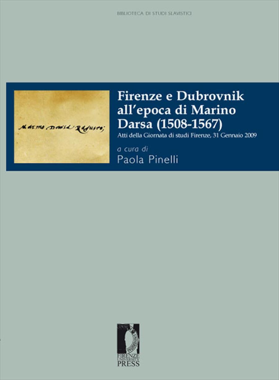 Firenze e Dubrovnik all'epoca di Marino Darsa (1508-1567)