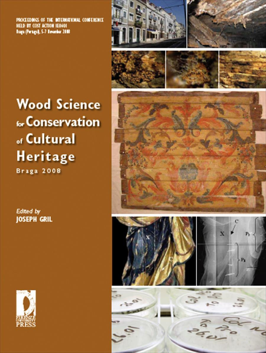 Wood Science for Conservation of Cultural Heritage – Braga 2008