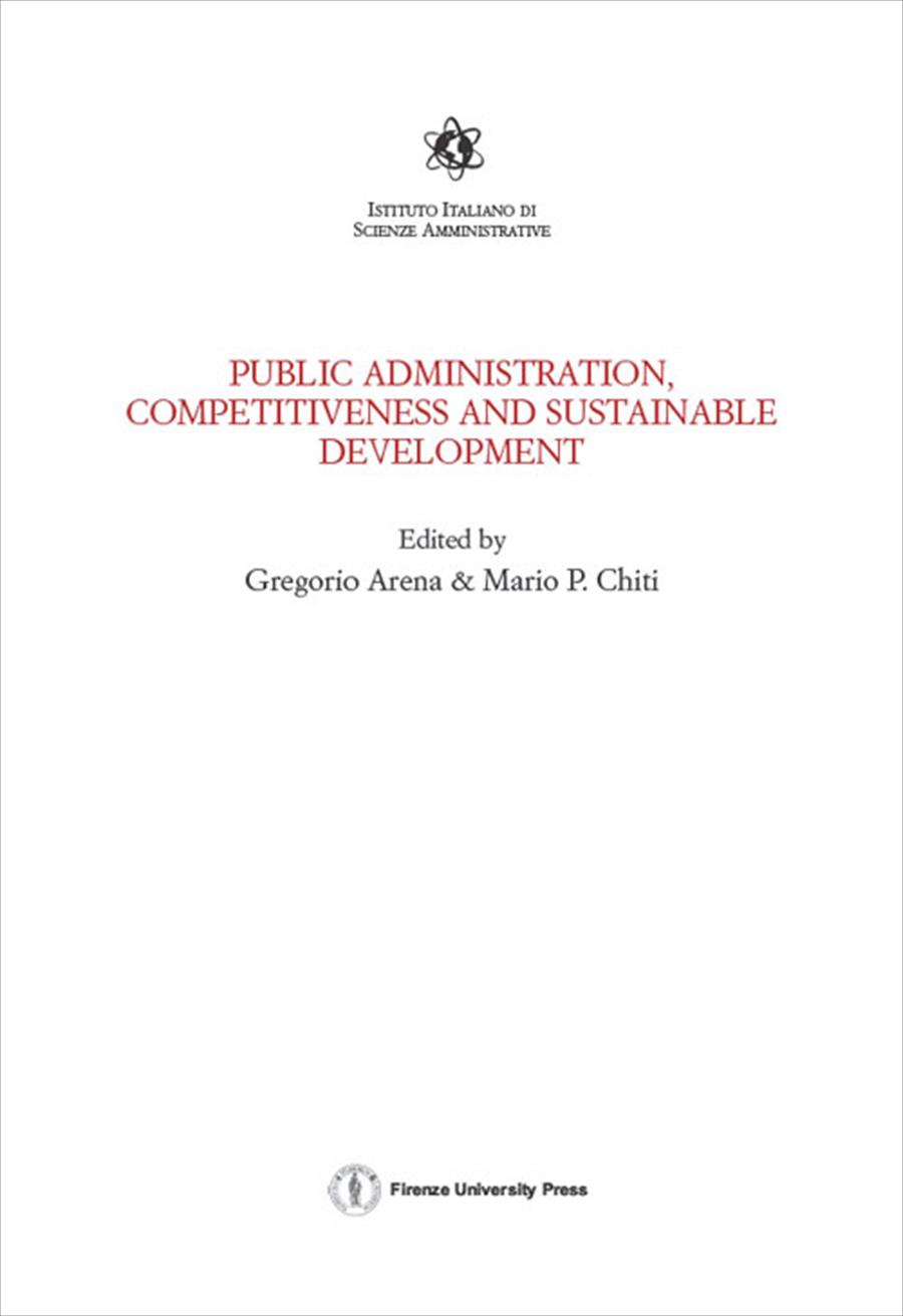 Public Administration, Competitiveness and Sustainable Development