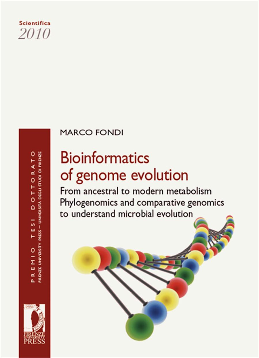 Bioinformatics of genome evolution: from ancestral to modern metabolism