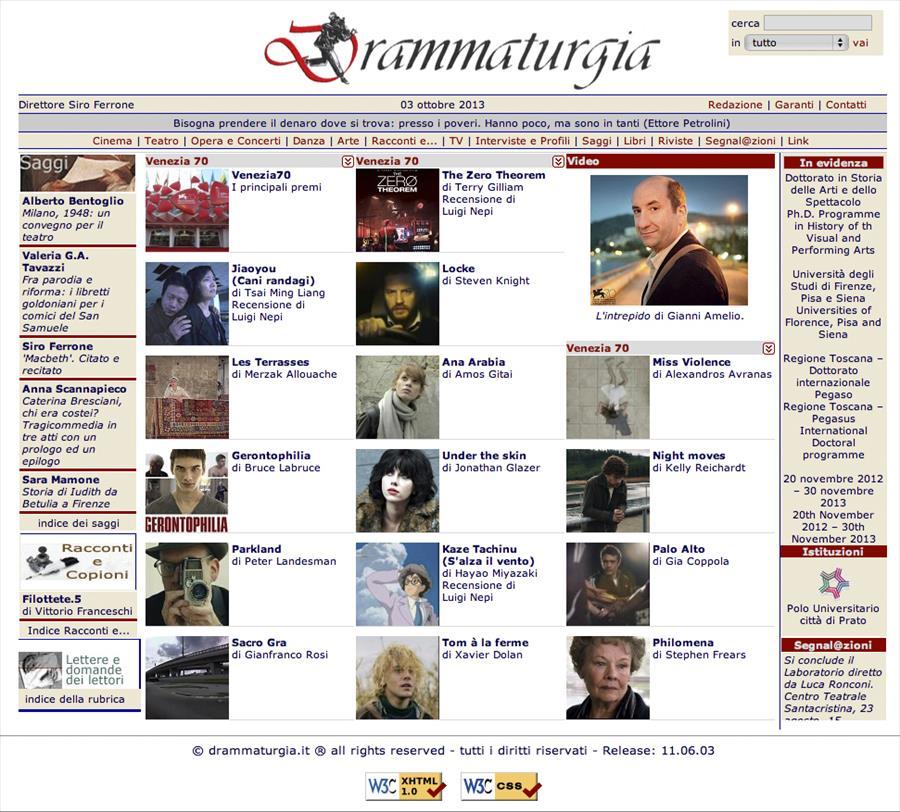 www.drammaturgia.it