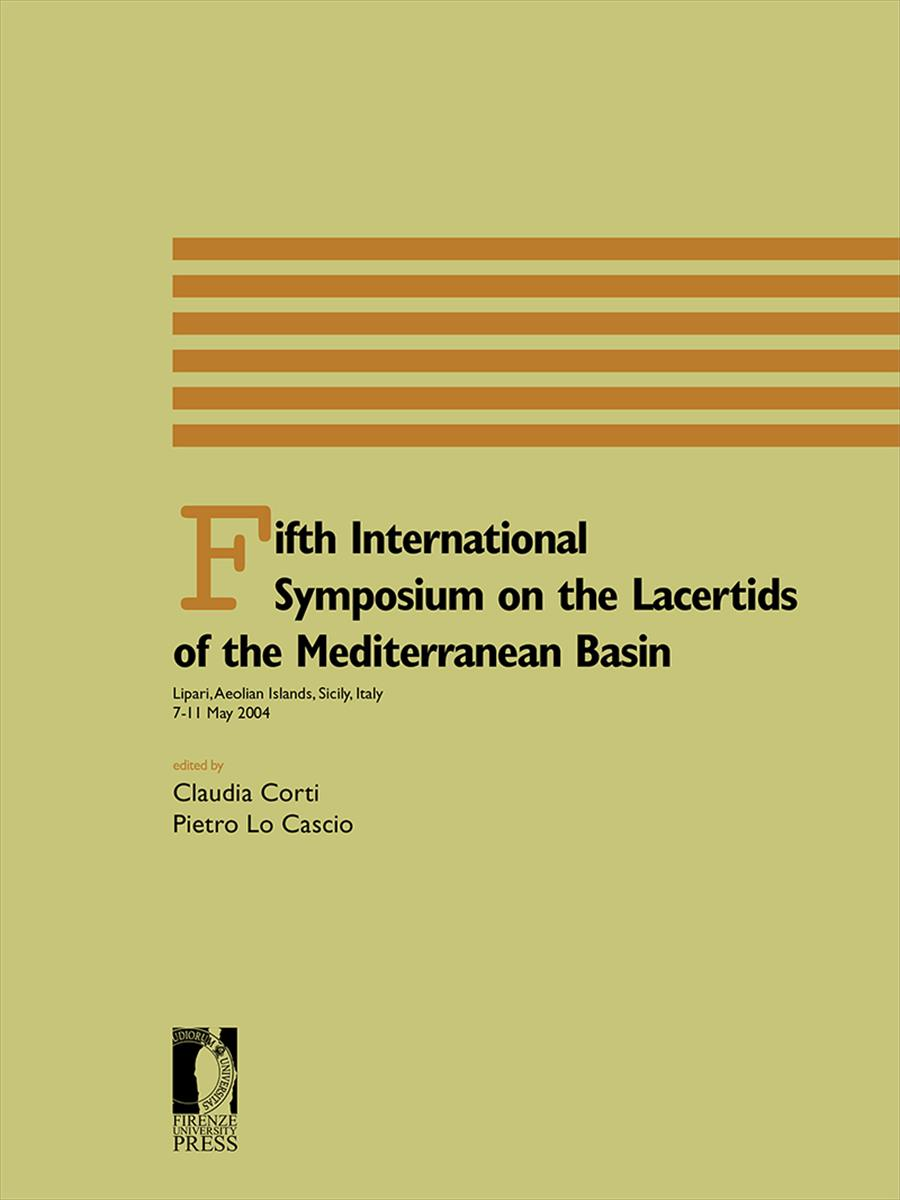 Fifth international Symposium on the lacertids of the Mediterranean Basin