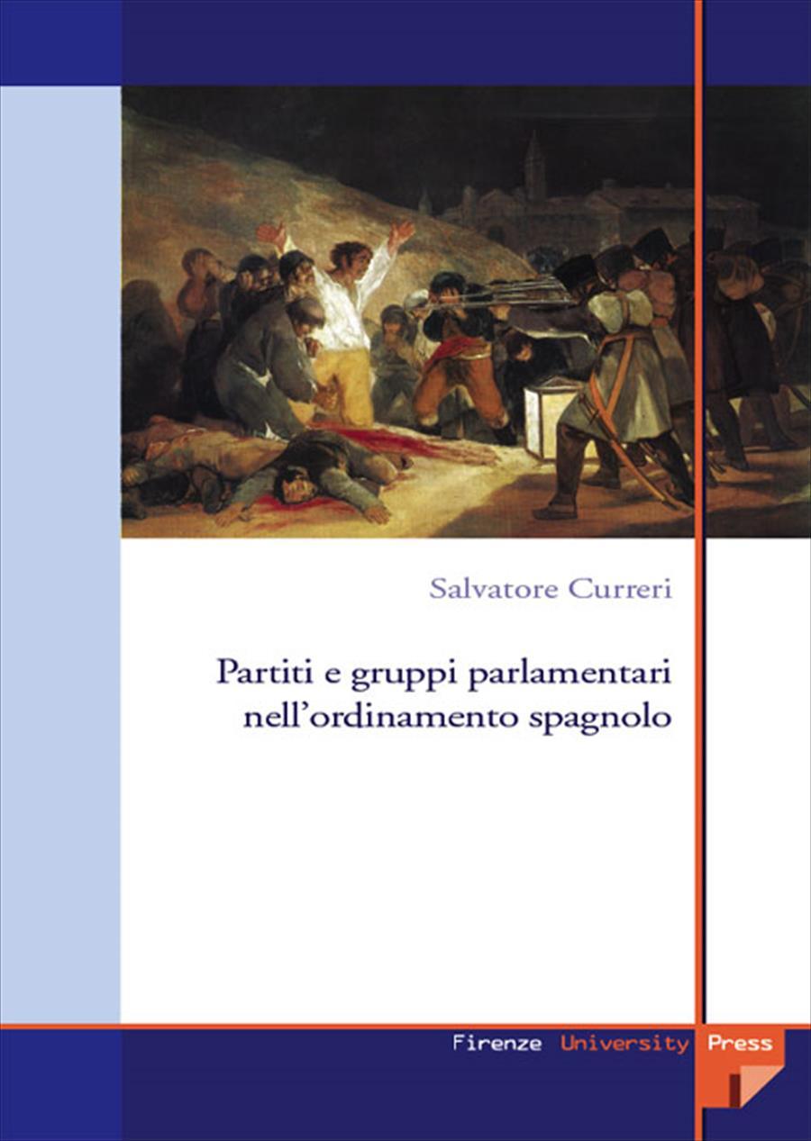 Partiti e gruppi parlamentari nell'ordinamento spagnolo