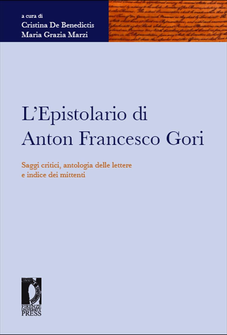 L'Epistolario di Anton Francesco Gori
