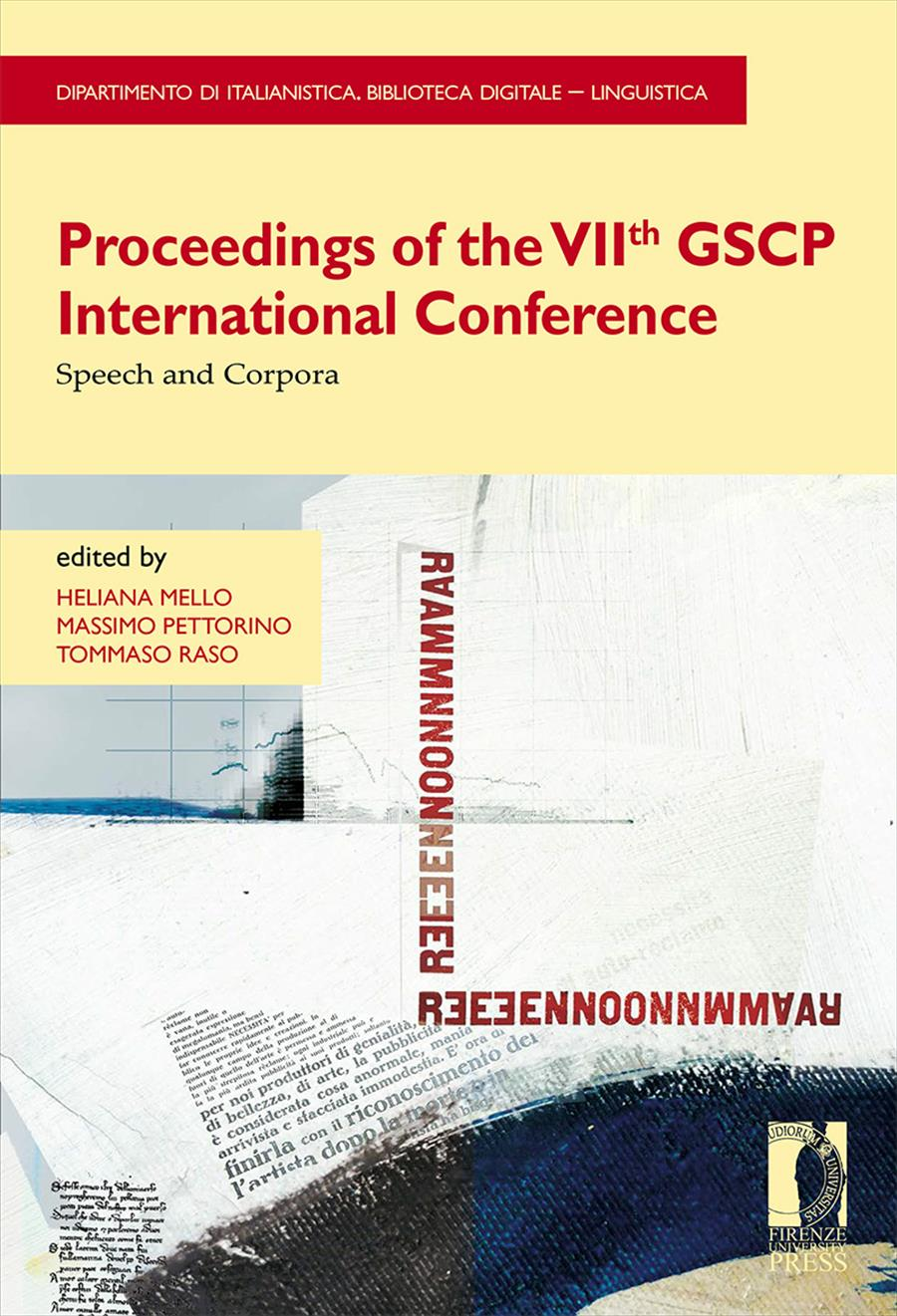 Proceedings of the VIIth GSCP International Conference