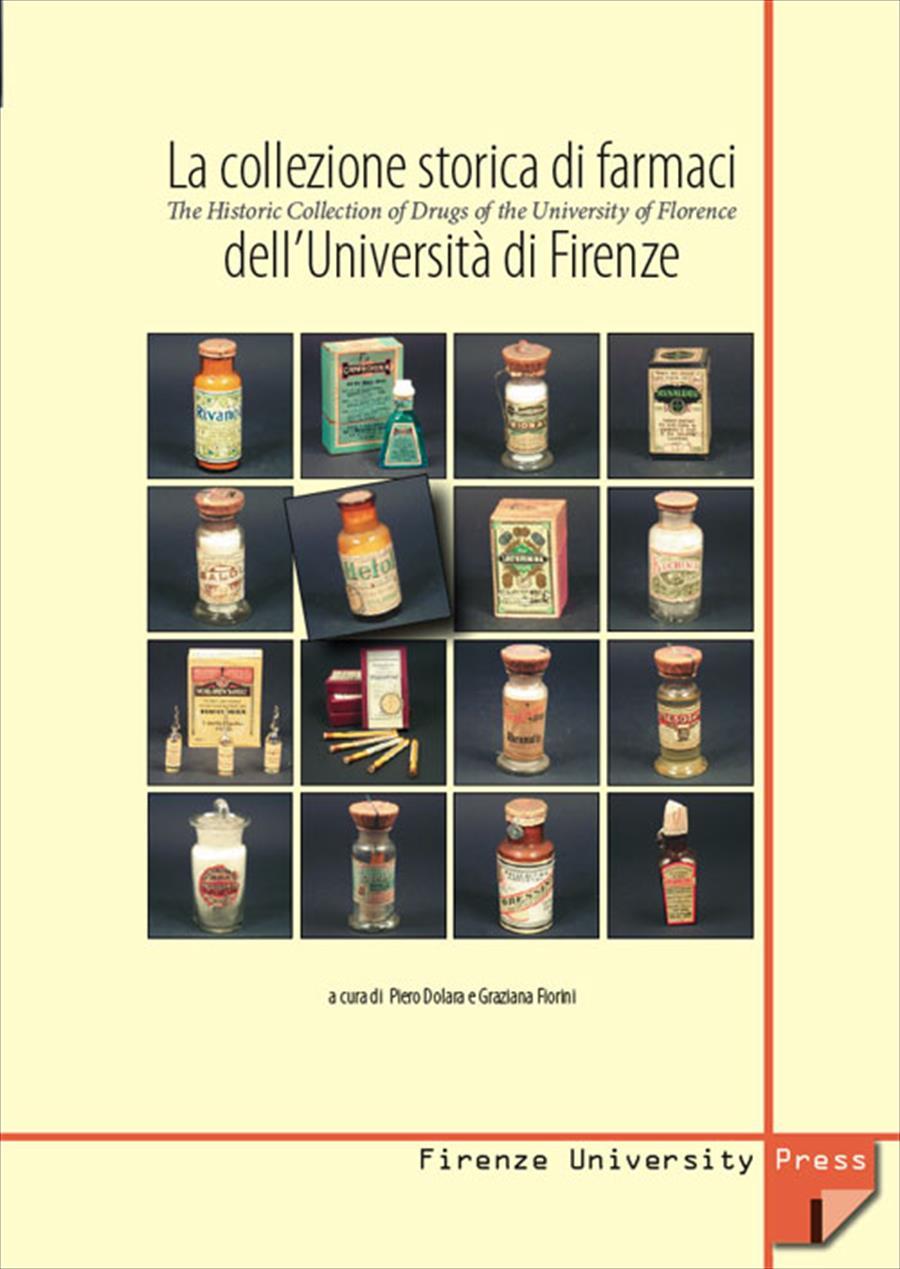 La collezione storica di farmaci dell'Università di Firenze