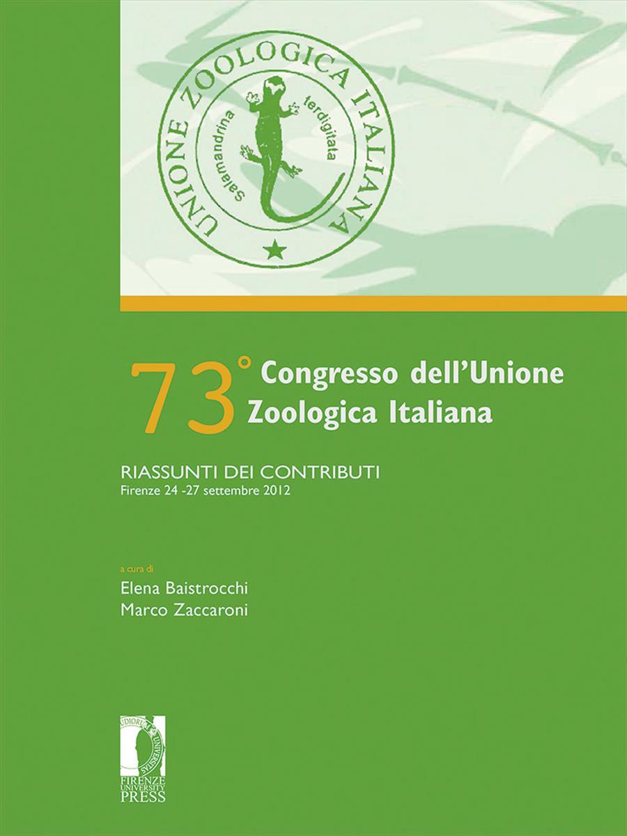 73° Congresso dell'Unione Zoologica Italiana