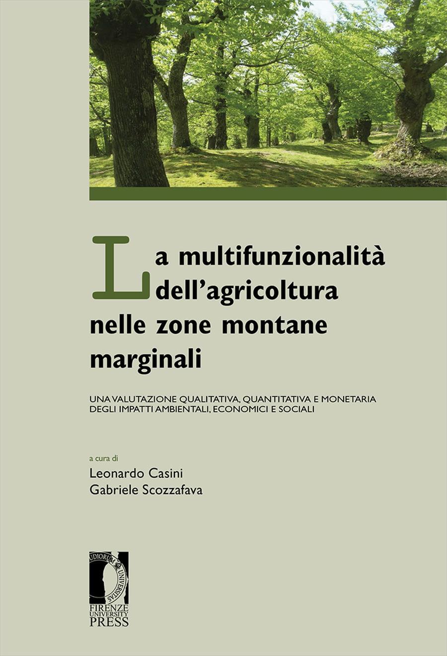 La multifunzionalità dell'agricoltura nelle zone montane marginali