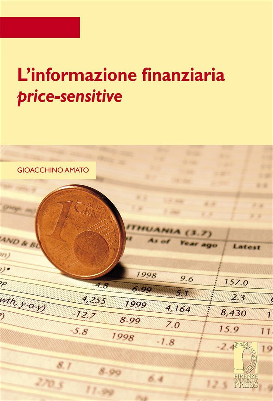 L'informazione finanziaria <i>price-sensitive</i>