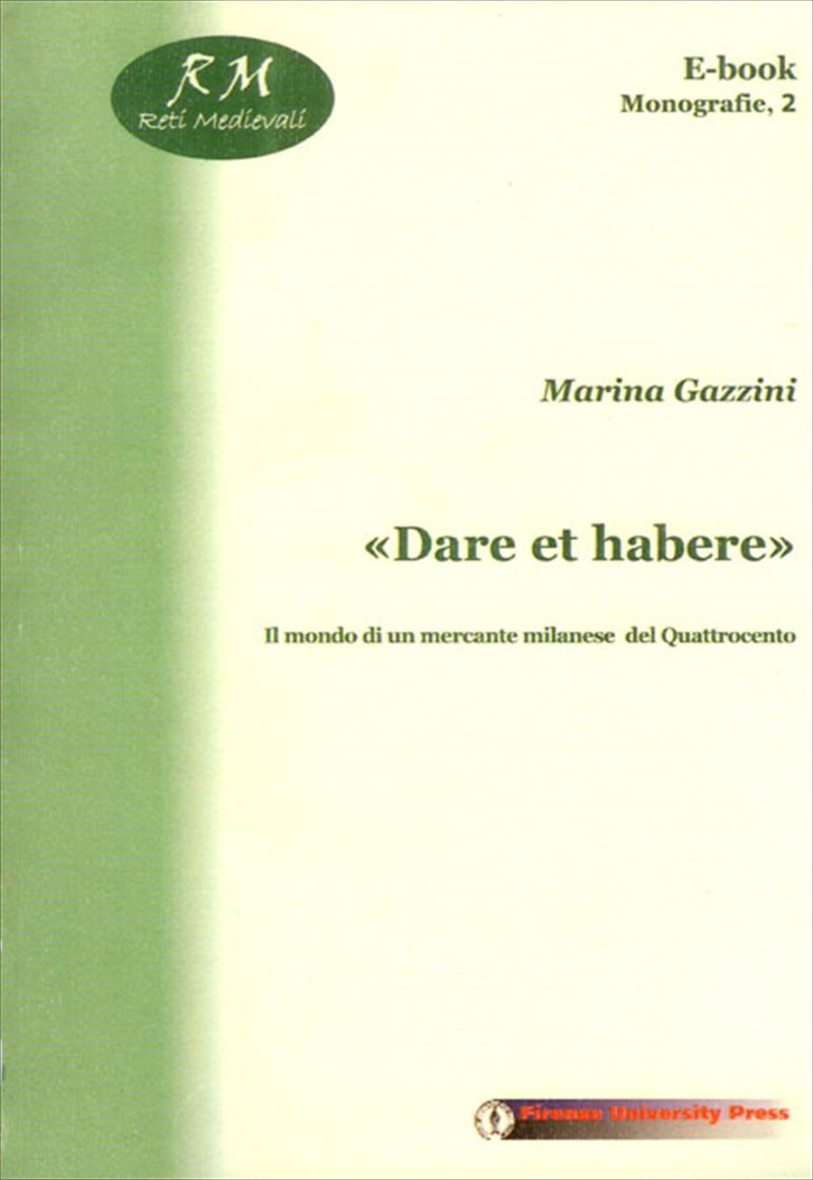 """""""Dare et habere"""""""