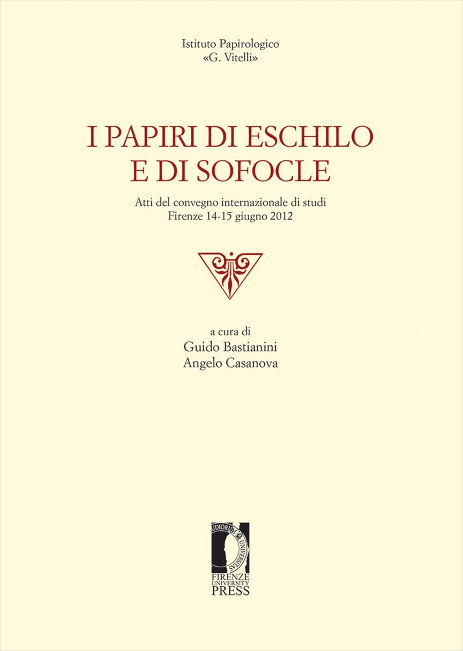 I papiri di Eschilo e di Sofocle