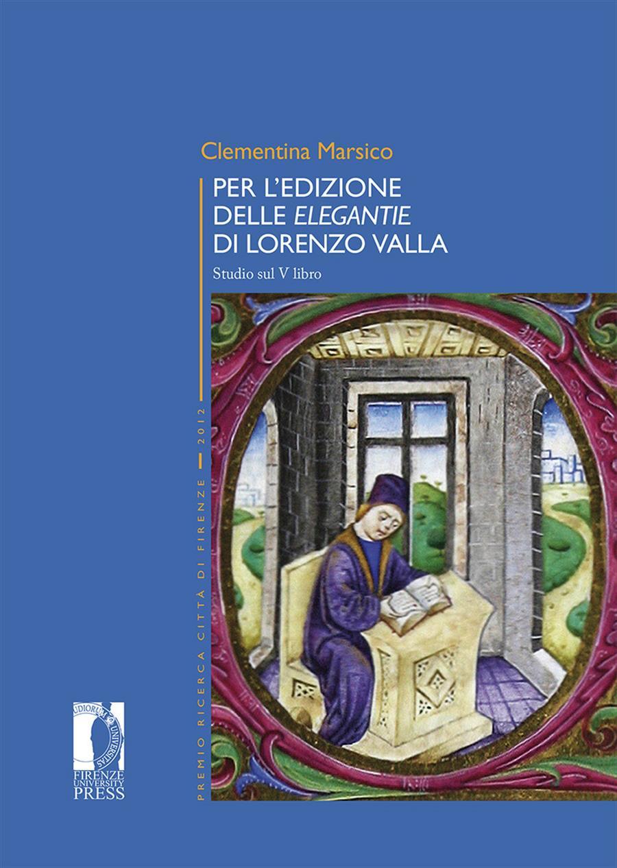 Per l'edizione delle Elegantie di Lorenzo Valla