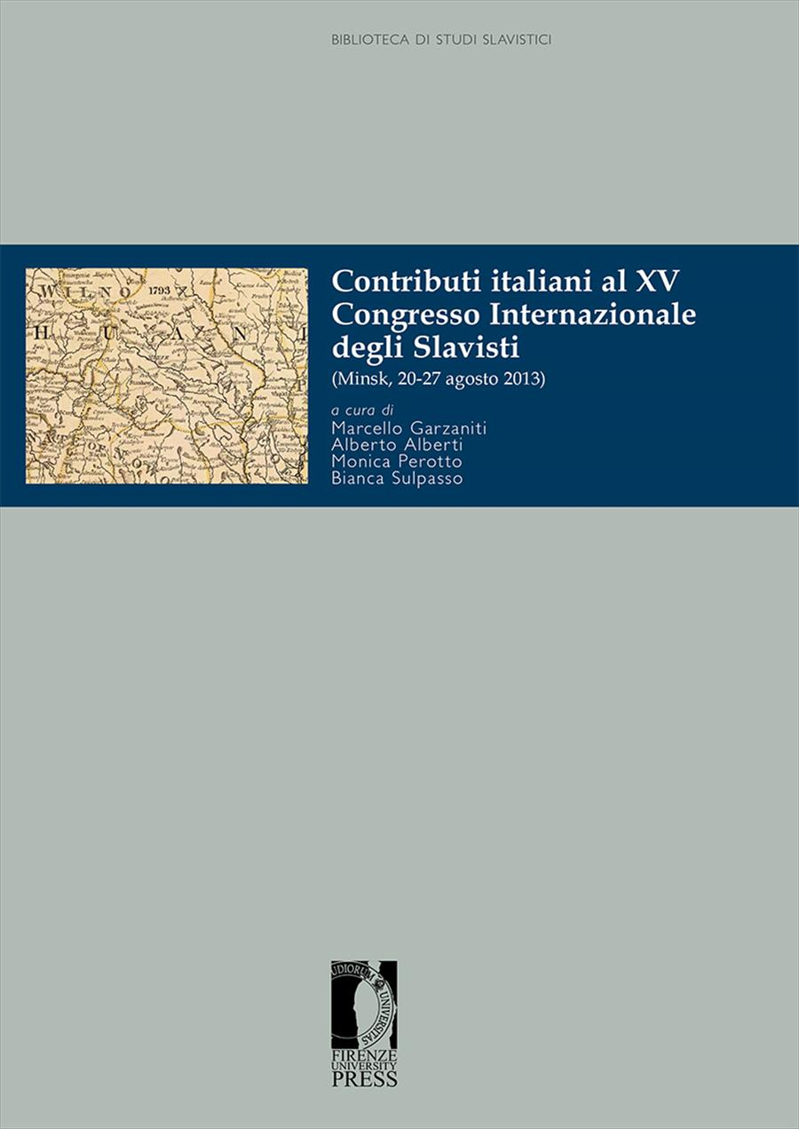 Contributi Italiani al XV Congresso Internazionale degli Slavisti