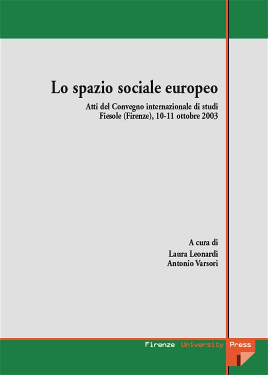 Lo spazio sociale europeo