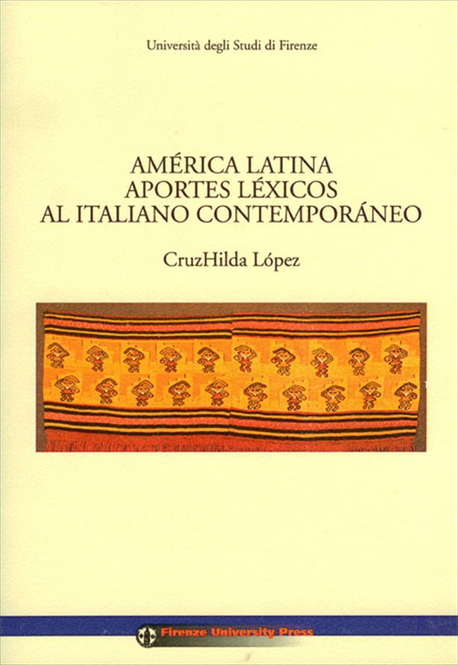 America Latina aportes lexicos al italiano contemporaneo