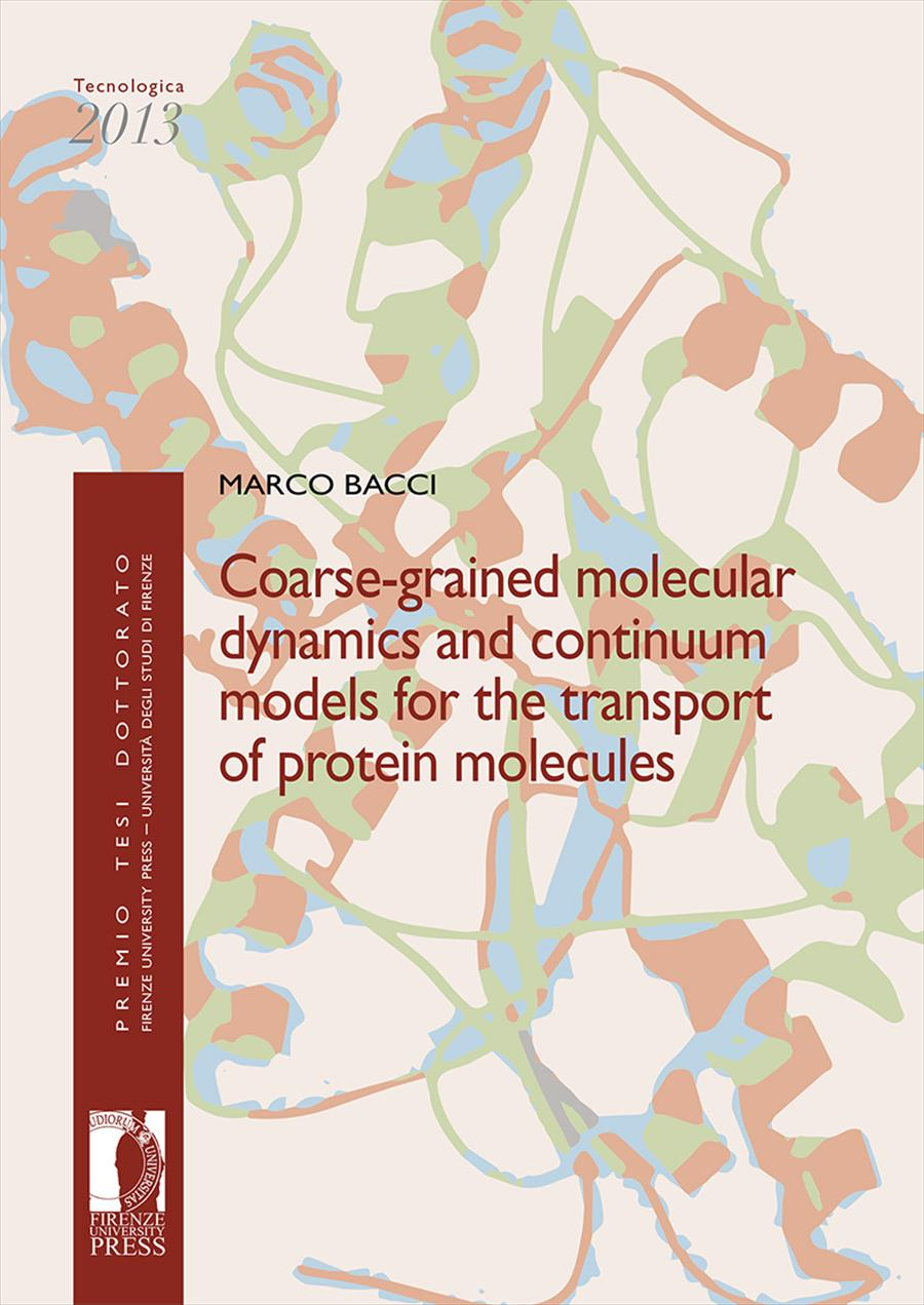 Coarse-grained molecular dynamics and continuum models for the transport of protein molecules