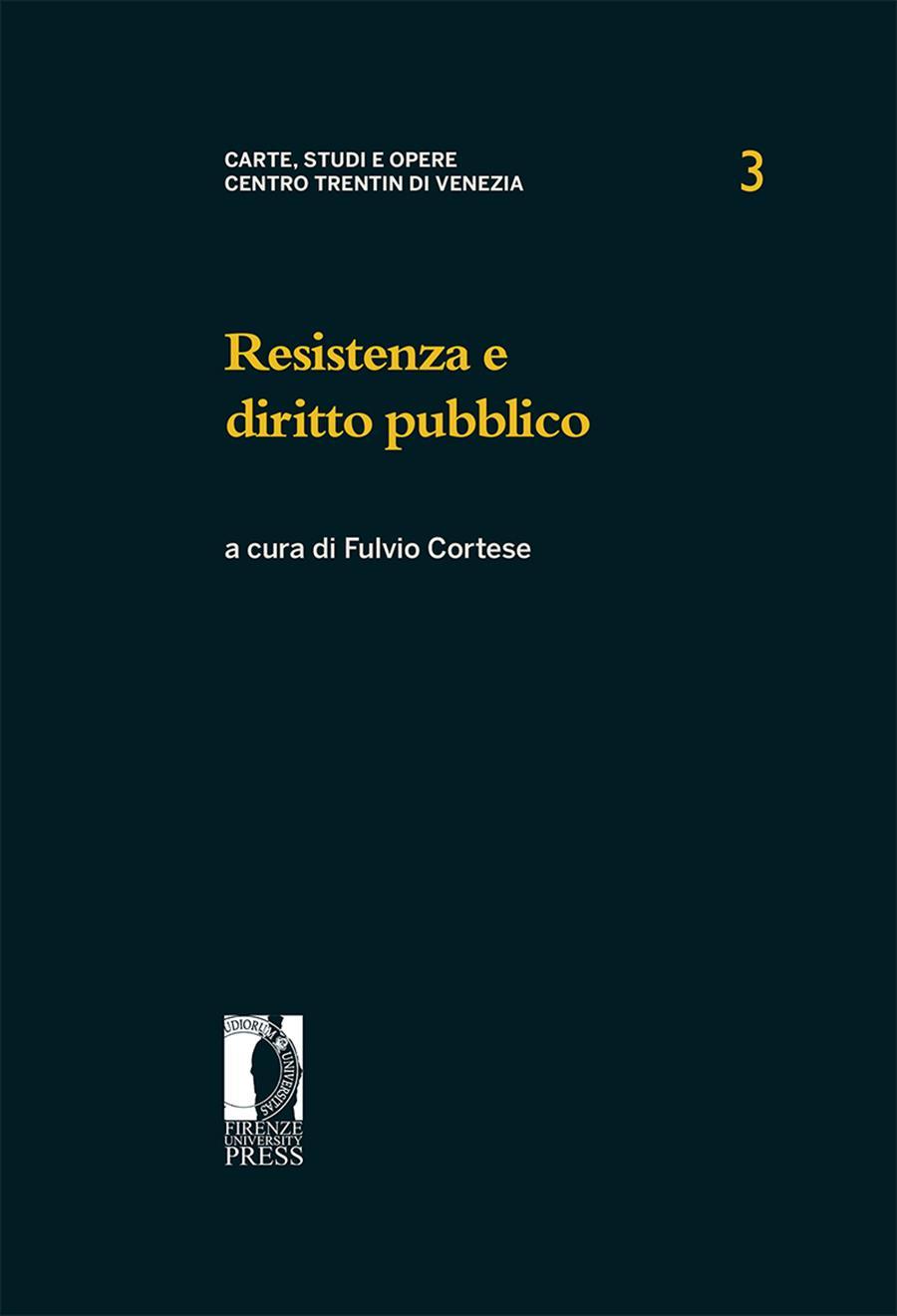 Resistenza e diritto pubblico