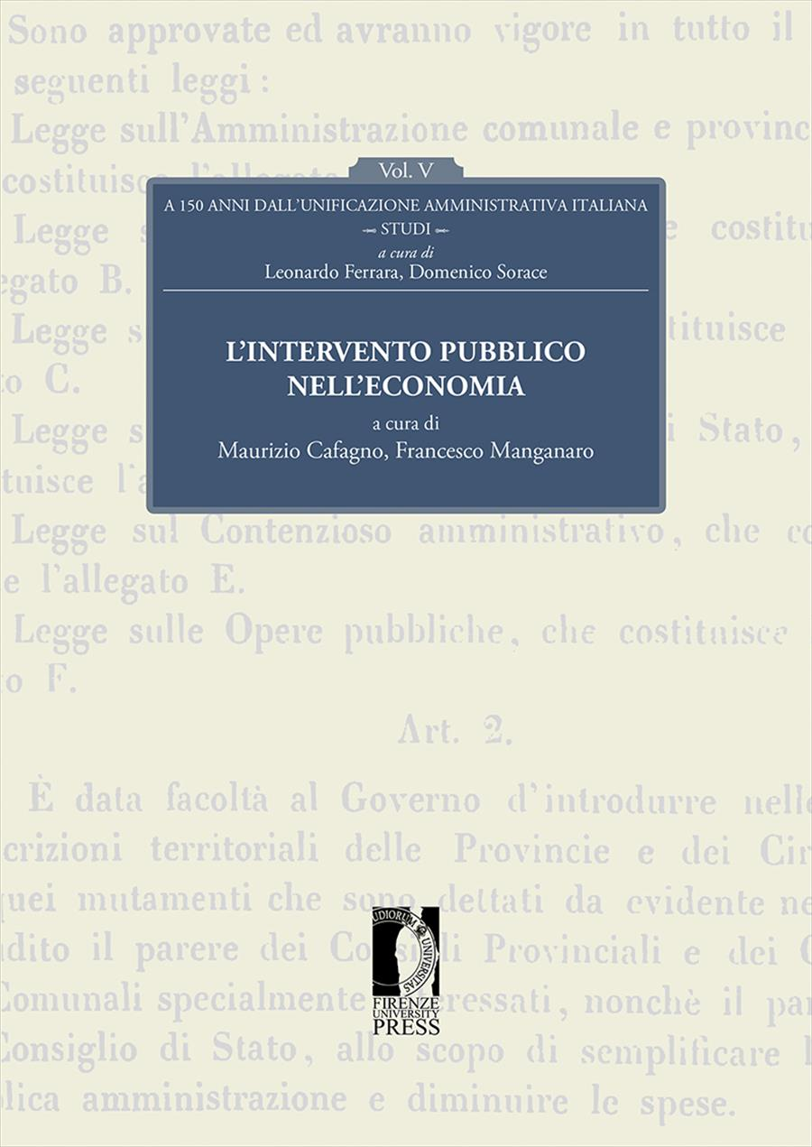 A 150 anni dall'unificazione amministrativa italiana. Vol. V