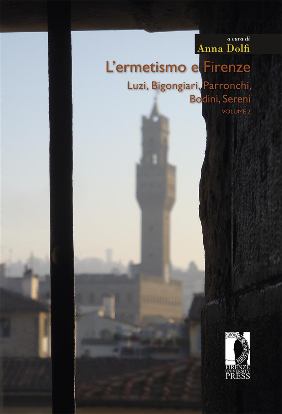L'ermetismo e Firenze