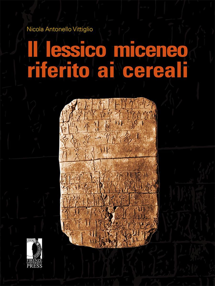 Il lessico miceneo riferito ai cereali