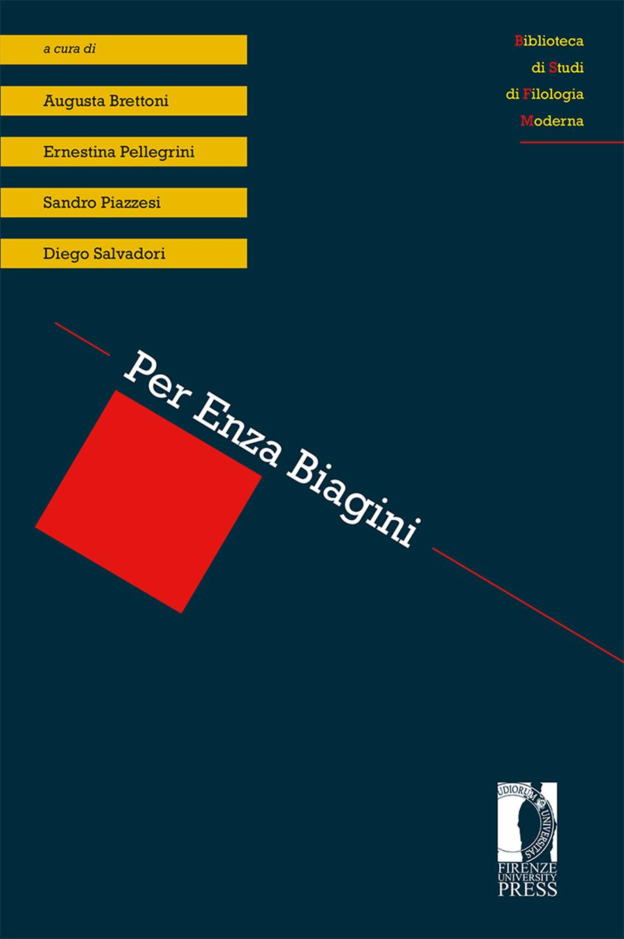 Per Enza Biagini