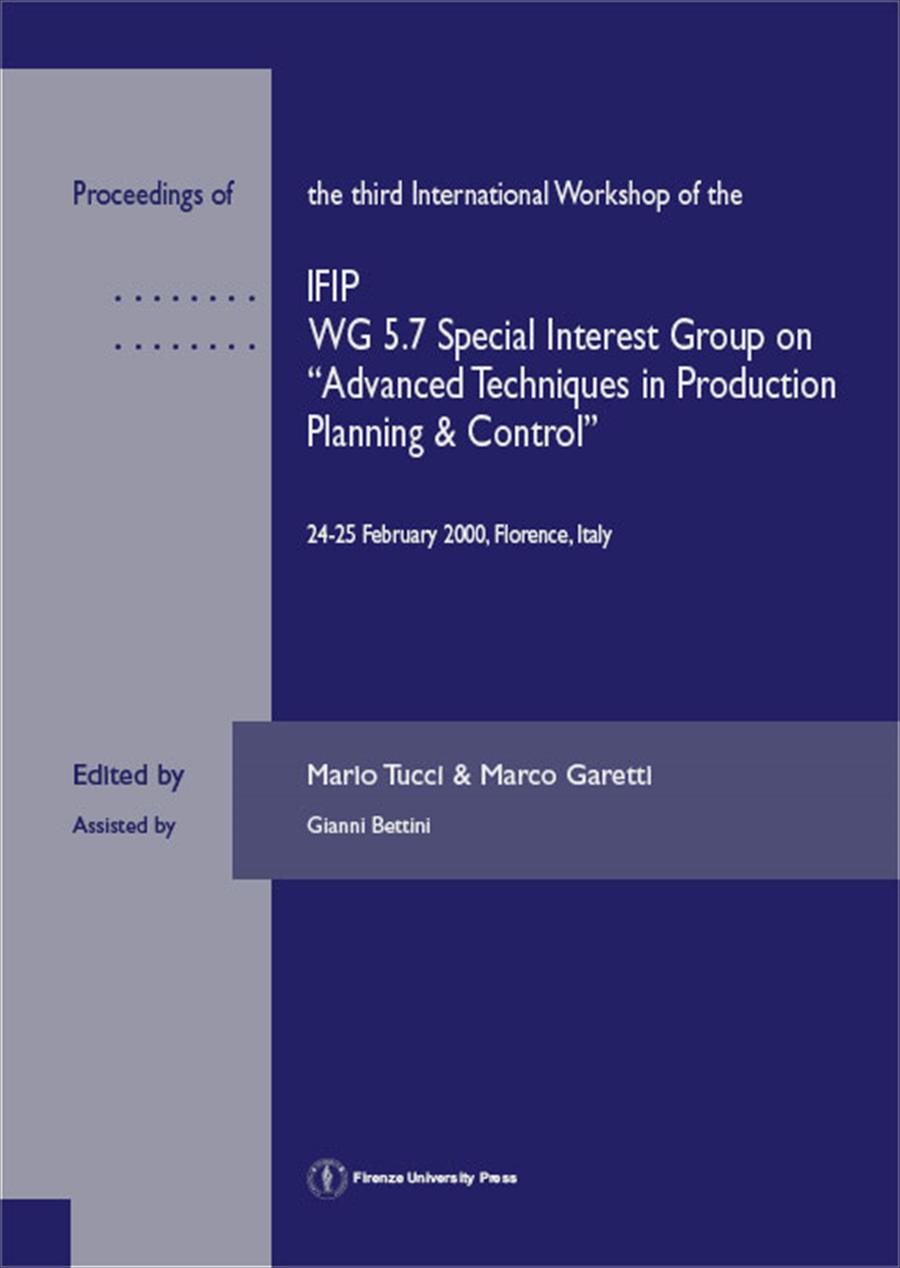 Proceedings of the third International Workshop of the IFIP WG5.7