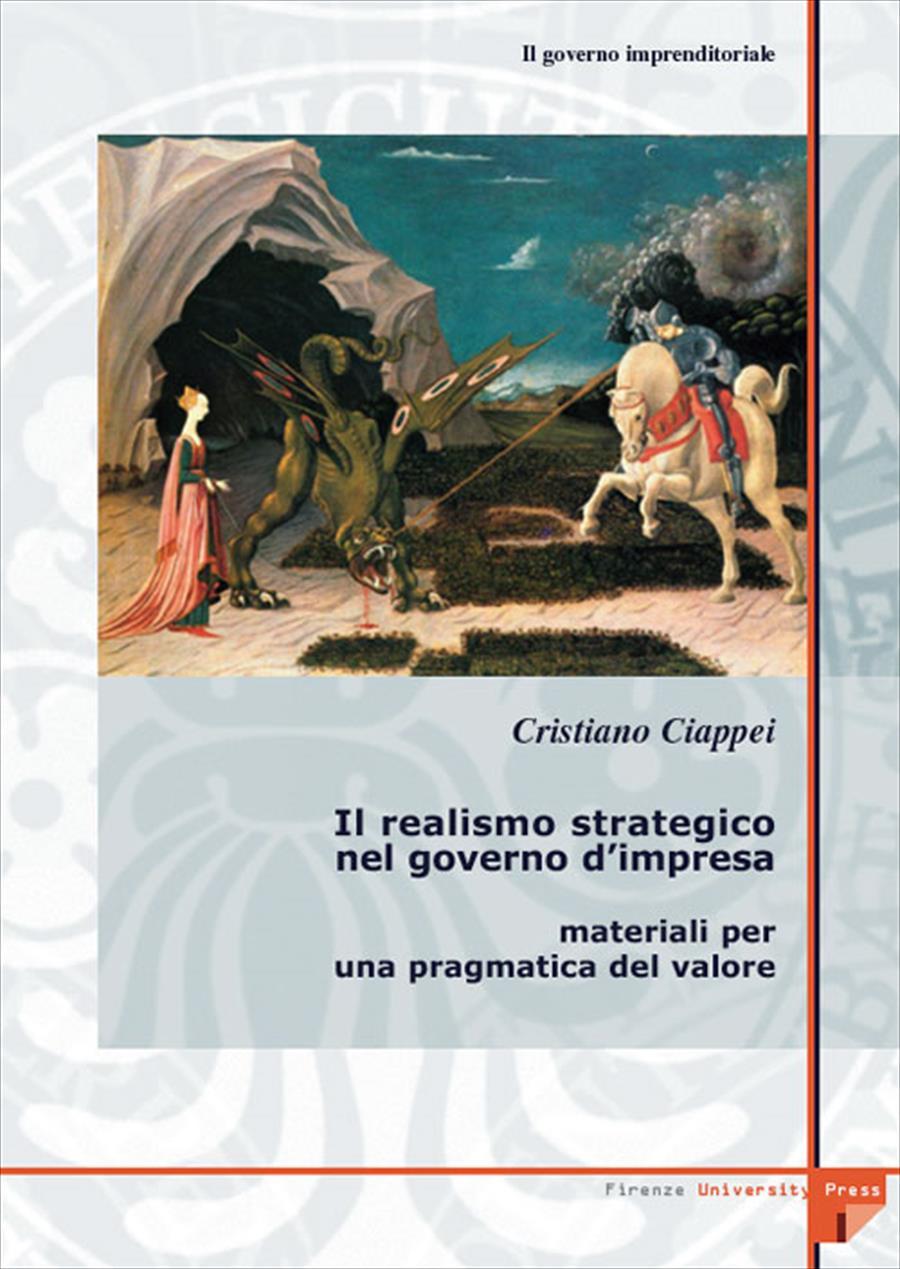 4.1 Il realismo strategico nel governo d'impresa