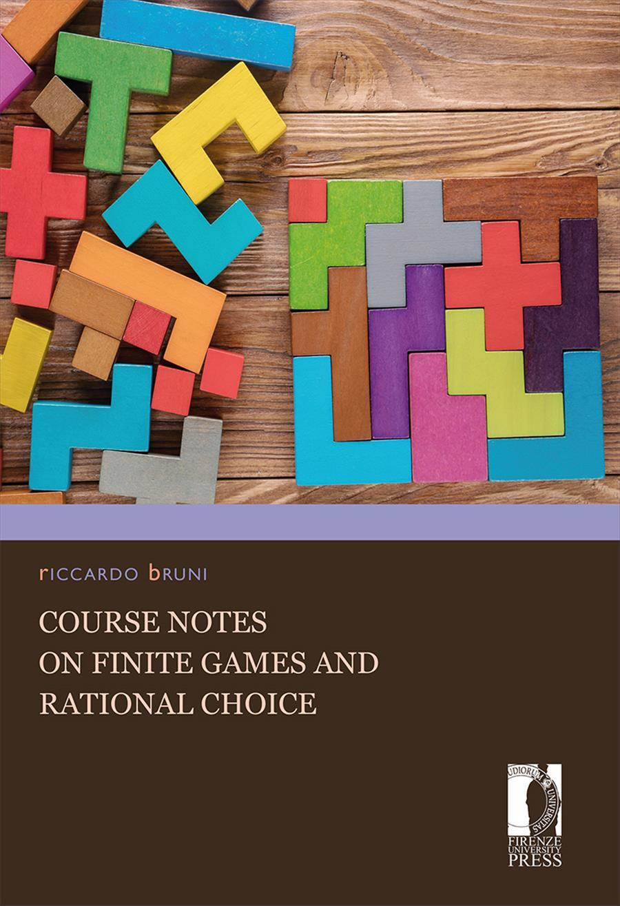 Course notes on finite games and rational choice
