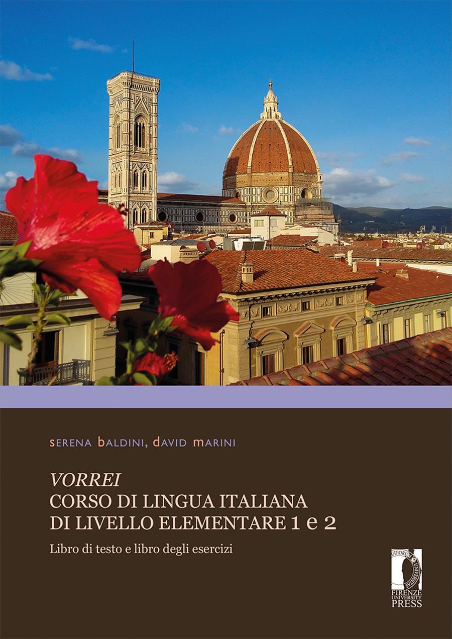 <i>Vorrei</i>. Corso di lingua italiana di livello elementare 1 e 2