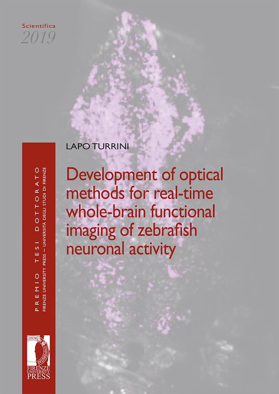 Development of optical methods for real-time whole-brain functional imaging of zebrafish neuronal activity