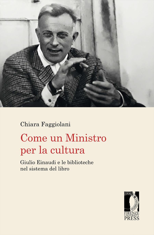 Come un Ministro per la cultura