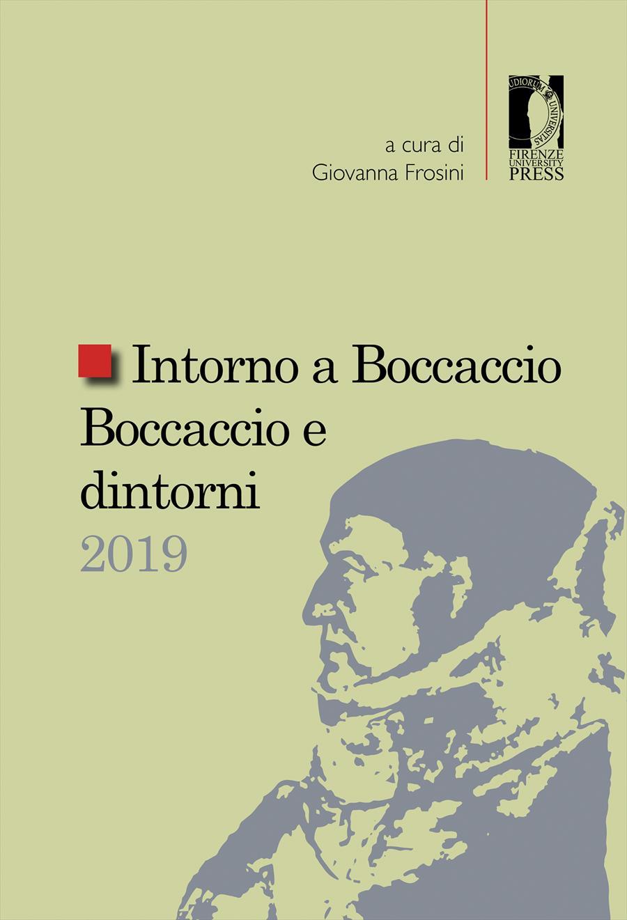 Intorno a Boccaccio / Boccaccio e dintorni 2019