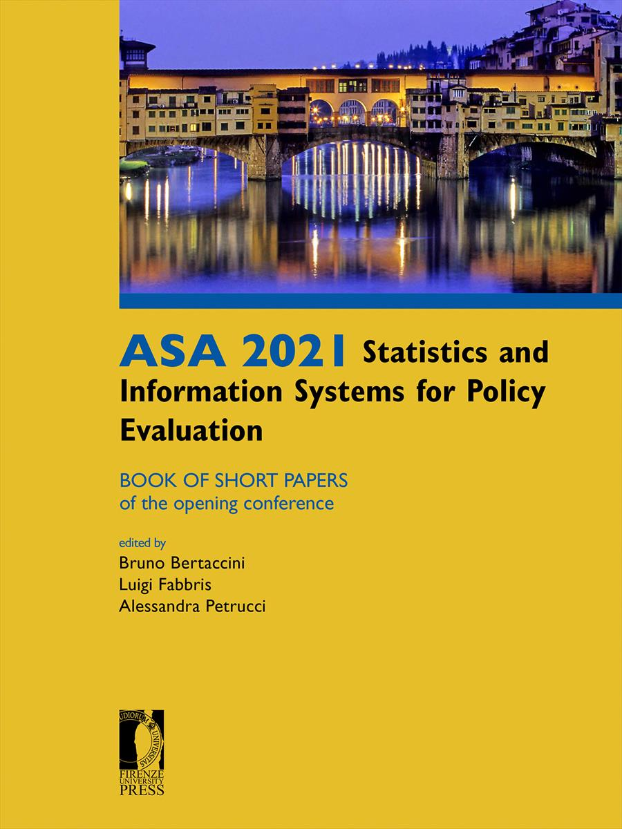 ASA 2021 Statistics and Information Systems for Policy Evaluation