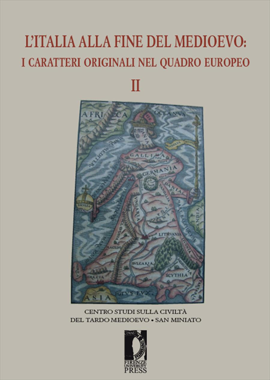 L'Italia alla fine del Medioevo II