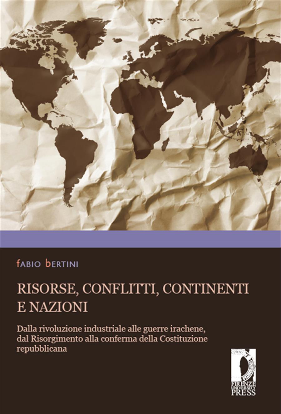 Risorse, conflitti, continenti e nazioni
