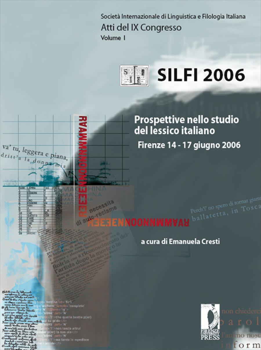 Prospettive nello studio del lessico italiano