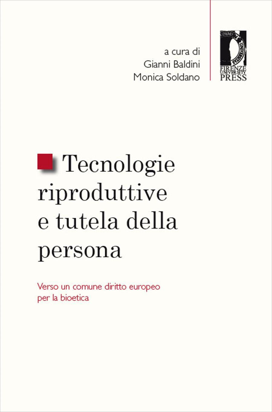Tecnologie riproduttive e  tutela della persona